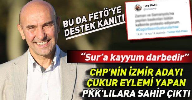 İşte CHP'nin izmir adayı Tunç Soyer'in PKK desteği