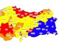 İşte koronavirüs risk haritasındaki mavi rengin sırrı!