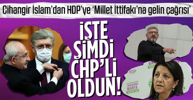 CHP'li Cihangir İslam, KK'nın yolunda