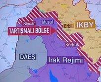 Irak haritası bir günde değişti