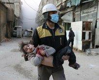 Katil Esad rejimi Doğu Gutayı kimyasal silahla vurdu