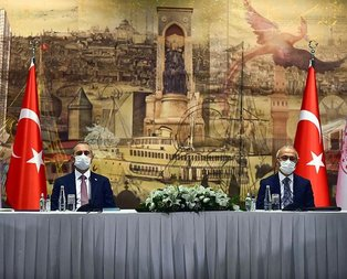 Bakan Elvan ve Gül TOBB yönetimiyle bir araya geldi