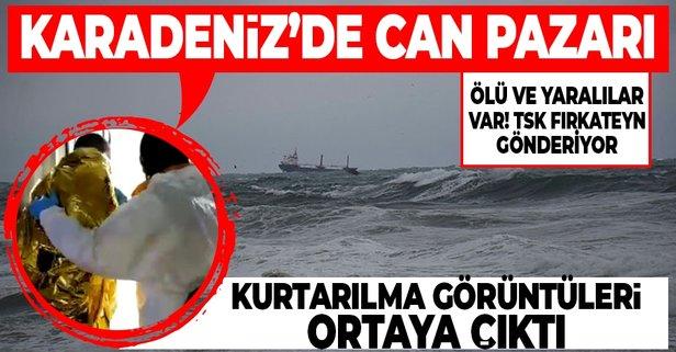 SON DAKİKA! Bartın açıklarında Rus bandıralı kuru yük gemisi battı! Validen  flaş açıklama - Takvim