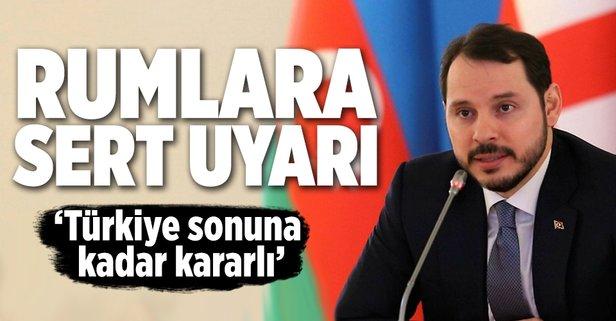 Bakan Albayrak: Türkiye bunun sonuna kadar karşısında olacaktır