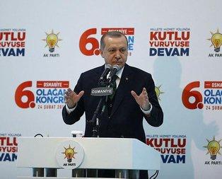 Cumhurbaşkanı Erdoğan: Dünyaya duyuracağız