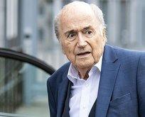 Blatter'e men cezası