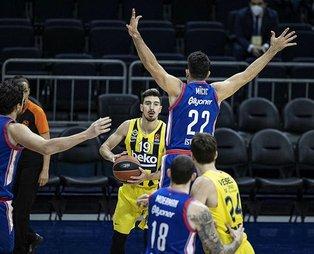 EuroLeague'deki Türk derbisi! Fenerbahçe Beko 74-106 Anadolu Efes