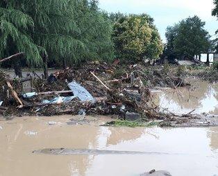 Düzce'de sel felaketi! 7 kişi aranıyor