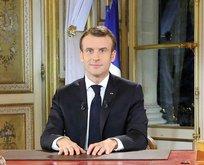 Macron'dan sarı yeleklilerle ilgili açıklama