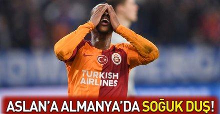 Galatasaraya Almanyada soğuk duş!