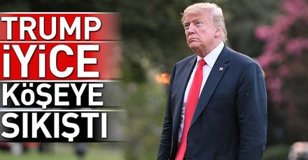 Son dakika: Trump iyice köşeye sıkışıyor!