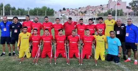 Türkiye Ampute Milli Takımı Dünya Kupasında finale adını yazdırdı