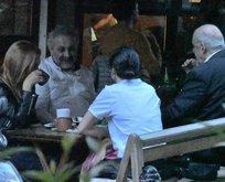 Hazar Ergüçlü ve ailesi Onur Ünlü ile yemekte!
