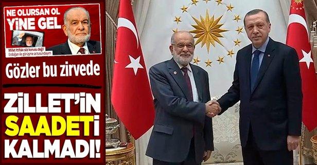 Başkan Erdoğan Temel Karamollaoğlu'nu kabul edecek