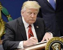 Trump ayrılığı resmen duyurdu!
