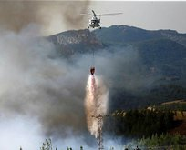Bakan açıkladı: 2 uçak, 19 helikopter...