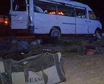 Konya'da feci kaza! Ölü ve yaralılar var...