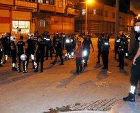 Şanlıurfa'da maske takmayan grup polise saldırdı