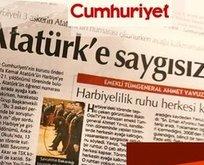 Bu sefer de Atatürk üzerinden algı operasyonunda!