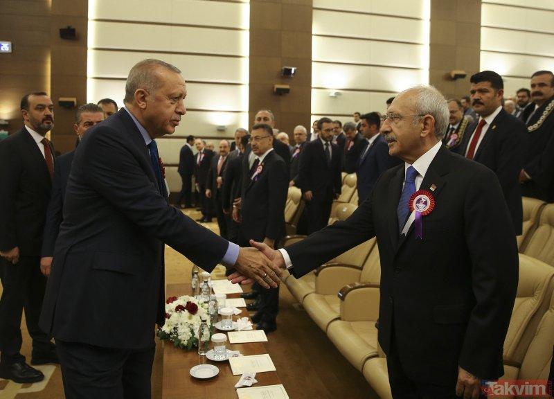 AYM'nin 57. Kuruluş Yıl Dönümü'nden dikkat çeken anlar! Başkan Erdoğan da katıldı