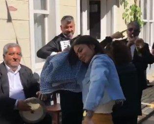 Demet Özdemir sokak ortasında kendinden geçti!