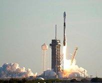 SpaceX'a ait roketin bir parçası tarlaya düştü!