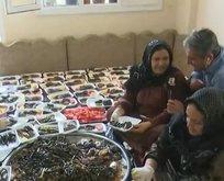 Şanlıurfalı kadınlardan Mehmetçik'e destek