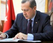 Cumhurbaşkanı Erdoğan imzaladı...