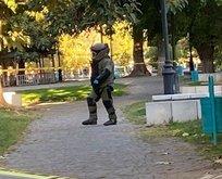 Gaziantep'te bombalı eylem engellendi!