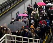 Toplu taşıma araçlarında yoğunluk