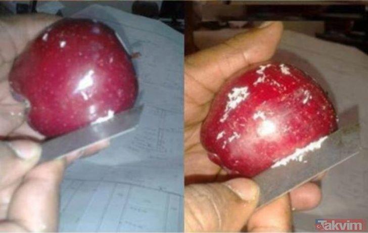Bu meyve ve sebzeler hiçte masum değiller! Mumlama işlemi sağlımızı tehdit ediyor