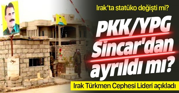 PKK Sincar'dan ayrıldı mı?