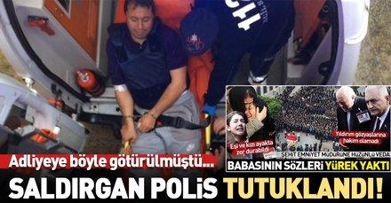 Son dakika: Rize Emniyet Müdürü'nü şehit eden polis tutuklandı