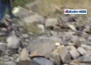 Sedanur'un cesedinin bulunduğu yer görüntülendi