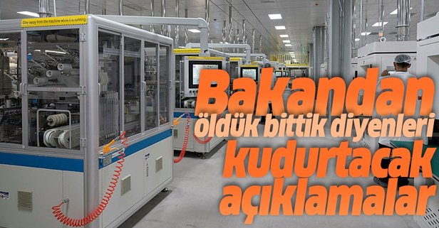 Bakan Varank'tan Türk sanayisi için güzel haber