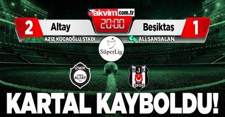 Beşiktaş'a soğuk duş!