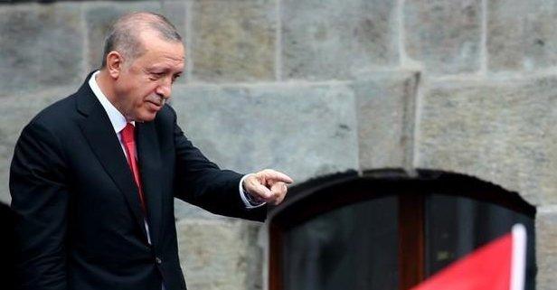 Açılışta Erdoğanın duygulandıran olay!