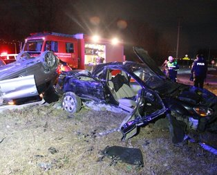 Sakarya'da feci kaza! Nişanlı çifti ölüm ayırdı