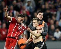 Bayern Münih - Real Madrid maçında ortalık karıştı
