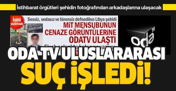 Uluslararası istihbarat örgütleri, şehidin fotoğrafından arkadaşlarına ulaşacak!