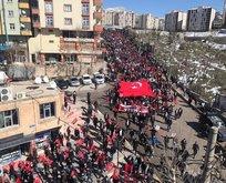Şırnak, PKK terörüne lanet etti!