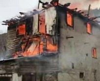 Ankara'da yangın! 7 ev küle döndü