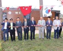 Yalova Belediyesi 193 bin liralık tuvaleti törenle açtı