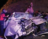 Bolu'da feci kaza! Çok sayıda yaralı var