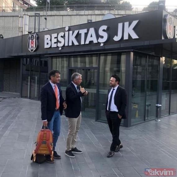 Lecce pazarlık için Beşiktaş'ın kapısını çaldı! İşte o fotoğraflar