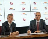 Trabzonspor ile Mekap arasında sponsorluk anlaşması