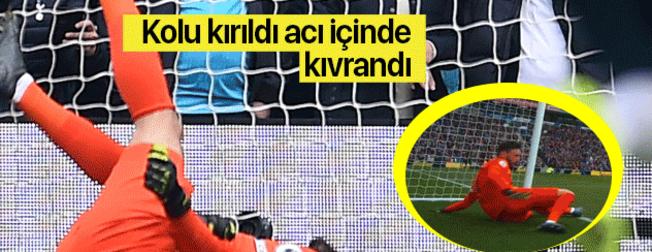 Türkiye'nin EURO 2020'deki rakibi Fransa'nın kalecisi Hugo Lloris'in kolu kırıldı