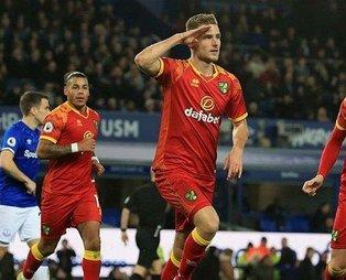 Norwich Cityli futbolcu Dennis Srbeny'den asker selamlı gol sevinci!