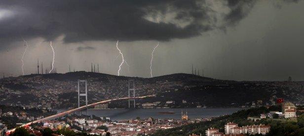 Meteoroloji'den son dakika gök gürültülü sağanak uyarısı! Bugün İstanbul'da hava nasıl olacak? 11 Eylül 2019 hava durumu
