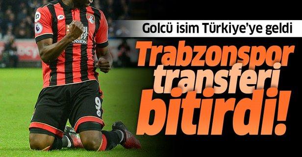 Trabzonspor'un yeni golcüsü Türkiye'ye geldi